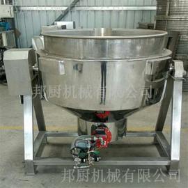 不锈钢电加热夹层锅-全自动可倾夹层锅