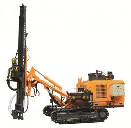 开山牌柴电两用环保型潜孔钻车 115mm孔径25m深