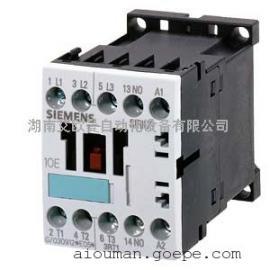 西门子功率接触器3RT1015-1BB41尺寸S00,螺栓型端子