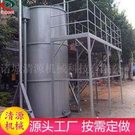 石油厂超级溶气气浮机 小型石油厂超级溶气气浮机 清源加工定做