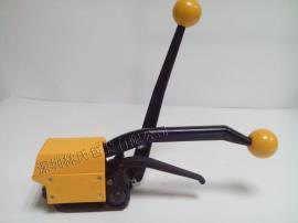 A333手动钢带打包机工作原理,免扣手动钢带打包机参数