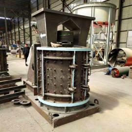 1000型立式板锤破碎机 直通式无筛底制砂机