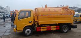 抽下水道淤积物5吨8吨吸污车/抽污车力度大的车辆技术参数配置