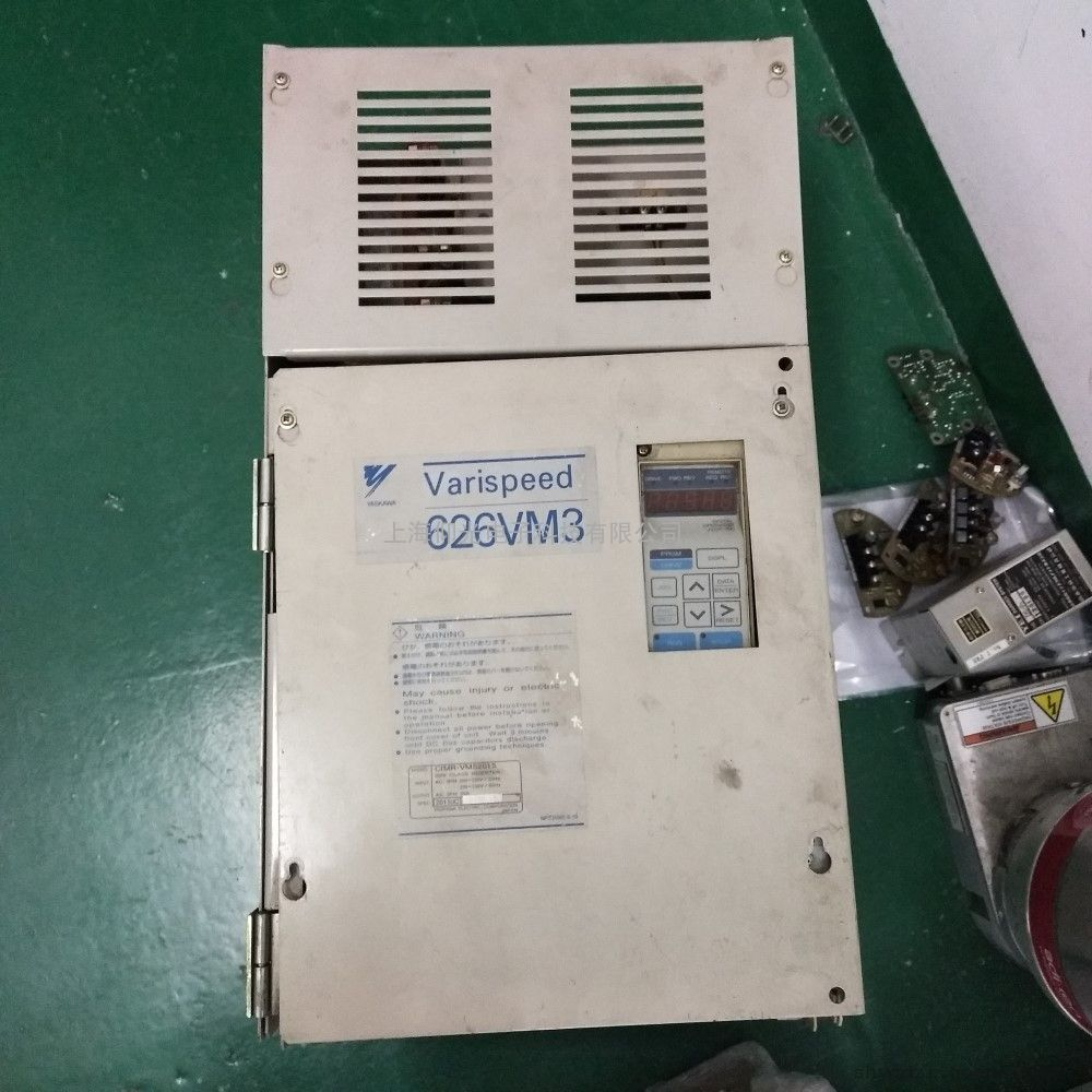安川22KW变频器CIMR-G5A4022维修 安川变频器无法启动故障维修