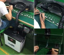 蔚南KN203烙铁焊锡焊接吸烟机