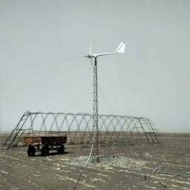 晟成1000W低转速风力发电机1kw小型风力发电机美观大方耐用