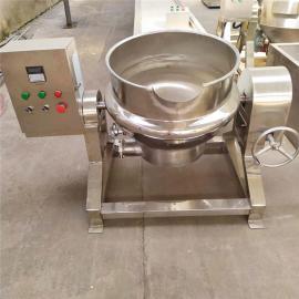 全自动可倾式夹层锅 酱猪蹄可倾斜式夹层蒸煮锅