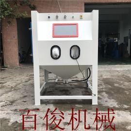 1010B手动箱式喷砂机表面处理除锈各型号定制