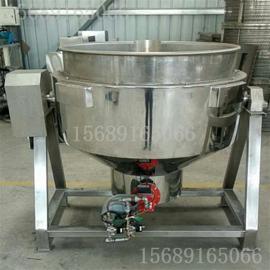 蒸汽加热夹层锅-不锈钢夹层锅设备
