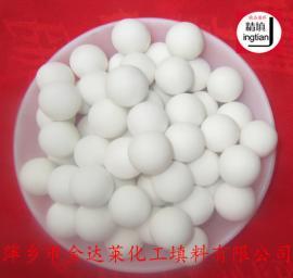 高纯氧化铝刚玉瓷球 惰性氧化铝刚玉耐火球 金达莱精填牌