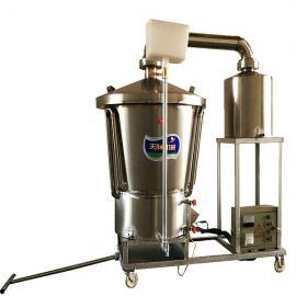 玉米酒烧锅,谷酒烤酒设备
