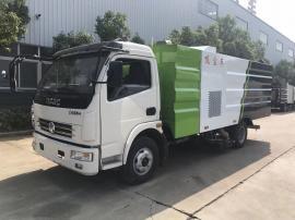 东风大多利卡6.5立方吸尘车小区物业专用道路清扫车