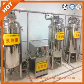 牛奶生产线杀菌牛奶机器生产巴氏奶设备