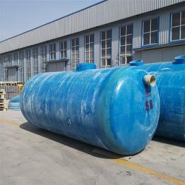 石佛镇玻璃钢化粪池生产厂家b加强筋玻璃钢化粪池-抗压