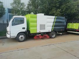 东风福瑞卡5吨扫路车报价 道路清扫车 环卫扫路车同等价位比质量