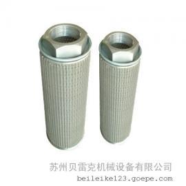 高压风机空气杂质灰尘粉尘颗粒过滤器 高压风机进出风口过滤桶