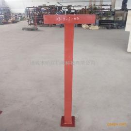 石油化工装置管道支吊架ZJ-3-6型单柱支架
