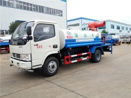 东风多利卡5吨洒水车 带雾炮洒水车 专业生产洒水车厂