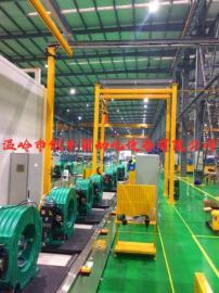 高效低能耗的曳引机装配生产线报价图片