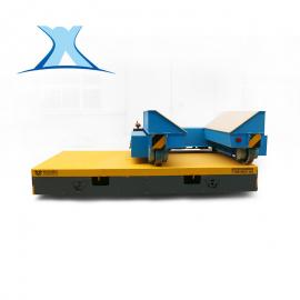 百特智能 机床设备配套运输车无轨平车化工原料包装箱搬运车 平板搬运车