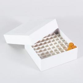 经济型纸制冻存盒 クライオラック RACK FOR TUBE
