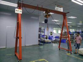 汽修吊架工厂移动式龙门架起吊维修3t移动吊架