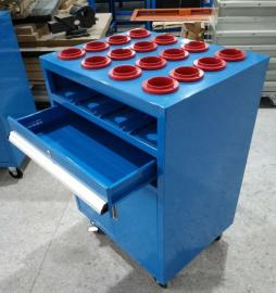 车间CNC刀具车 尺寸刀具存放车 车床HSK系列刀具车