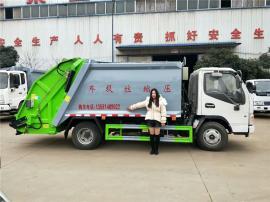东风小型压缩式垃圾车