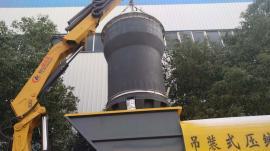 公园景区乡村城镇农村工业园区环卫深埋式吊装垃圾桶