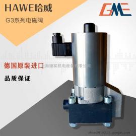 德国进口HAWE哈威G3-4电磁阀