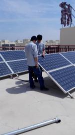鼎光太阳能发电系统 太阳能板 风力发电