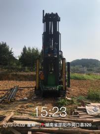 涌泉200型水井钻机 1817打井空压机售后调试现场