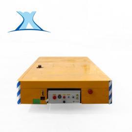 百特智能 箱梁式结构电动无轨道车 无轨胶轮平板车