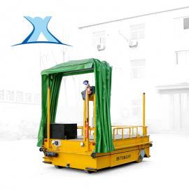 搬运变压器液压升高无轨电动轨道平板车蓄电池轨道平移车20吨