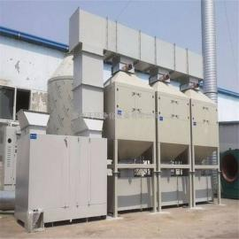 活性炭吸附塔 活性炭吸附箱 空气净化装置配置
