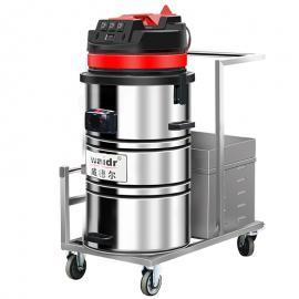 电瓶式吸尘吸水机车间仓库用无线强力吸尘机