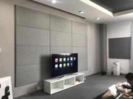 环保吸音软包墙贴家用吸音墙面装饰影音室布艺聚酯纤维吸音板