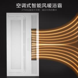 兰智风暖浴霸集成吊顶嵌入式多功能五合一浴室卫生间暖风机