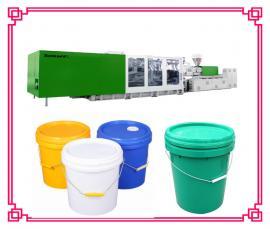 塑料桶机器生产机械 涂料桶生产设备 塑料圆桶设备公司