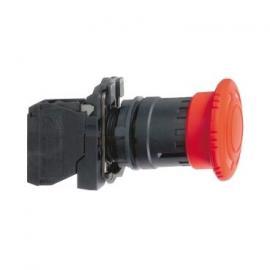施耐德红色蘑菇头急停按钮XB5AS542C短路保护急停按钮