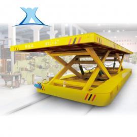 20t电动周转车自装自卸式轨道平车大吨位搬运车