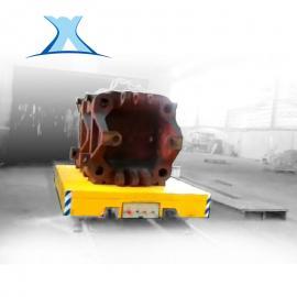 重型电动平车搬运用蓄电池系列轨道平车100吨无轨模具搬运车
