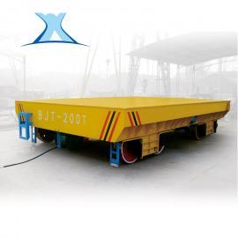 水利工程蓄电池供可转弯电动平车