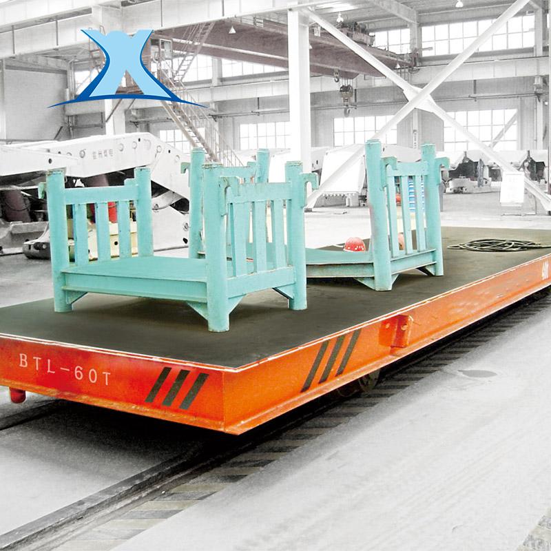 定制蓄电池供电轨道运输电动平车