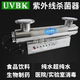 304不锈钢紫外线杀菌器 食品饮料厂专用过流式杀菌消毒灭藻设备