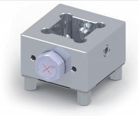 CNC电极定位工装夹具 EDM火花机定位夹具 铝合金夹头