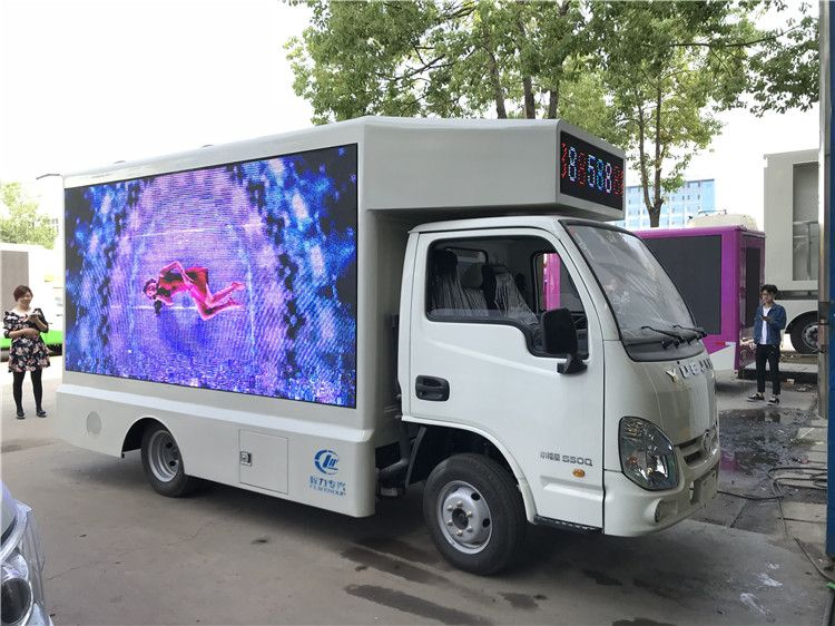 厂家推荐流动舞台专用汽车 小型舞台宣传车订制