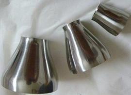 抛光异径管 304不锈钢 焊接大小头 306L