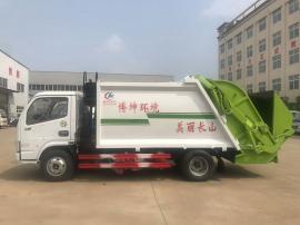 东风小多利卡 6方后装压缩式垃圾车D6垃圾压缩车