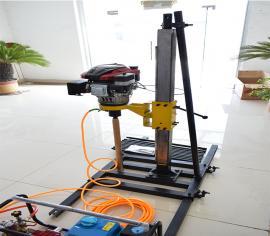 小型立式勘探钻机 两人操作省时省工 浅层取样钻机好